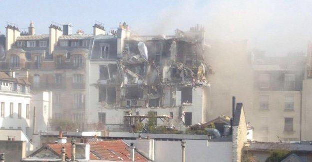 Paris'te bir binada patlama: 5 yaralı