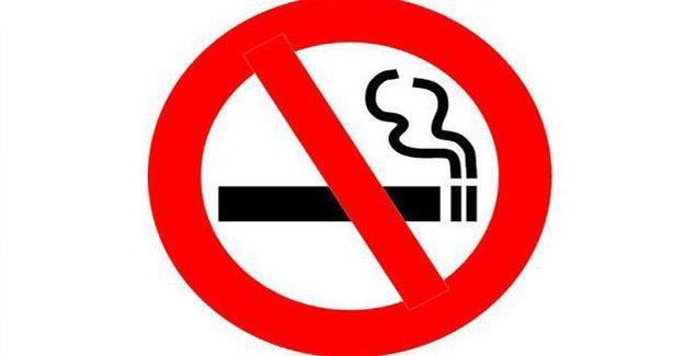 Plajda sigara içmek yasak