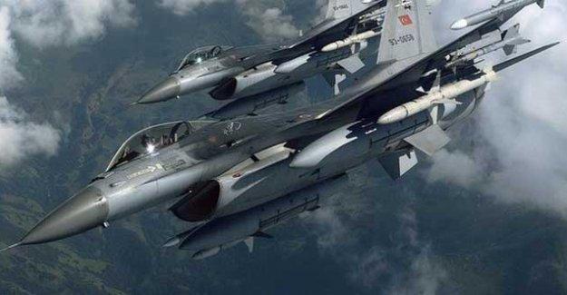 TSK, bir kez daha PKK alanlarına hava saldırısı düzenledi