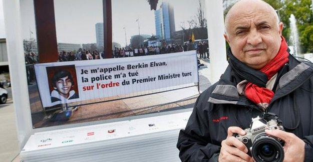 Türkiye'den Cenevre'de sergilenen 'Berkin Elvan fotoğrafına' itiraz