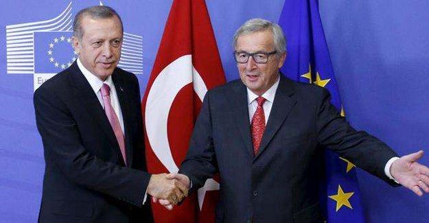 AB Komisyonu Başkanı'ndan Erdoğan'a yanıt