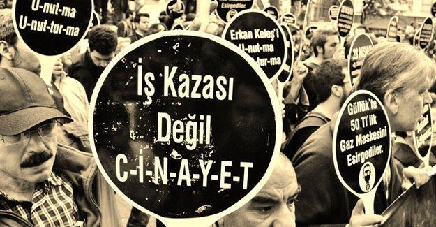 İş cinayetleri: Mayıs ayında en az 119 işçi öldü