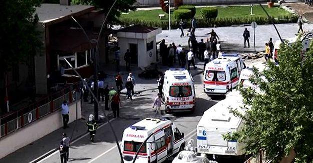 Antep'te patlama: 2 polis hayatını kaybetti