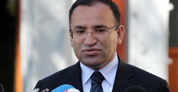 Adalet Bakanı Bozdağ'dan 'gözaltı' açıklaması