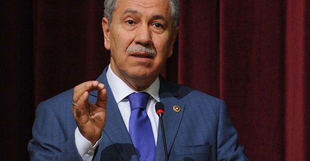 Arınç, AK Parti kongresine katılmama nedenini açıkladı