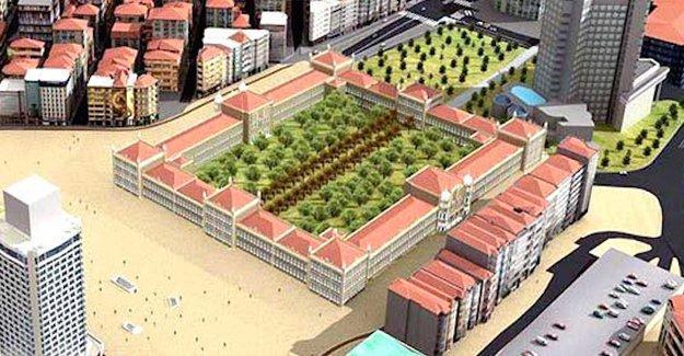 Danıştay Gezi Parkı'nın Topçu Kışlası projesini onadı