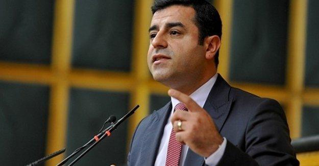 Demirtaş: Erdoğan orta sınıf bir kasaba politikacısıdır
