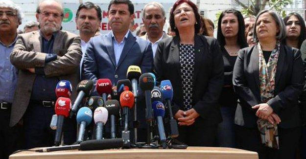 Demirtaş: Saray diktasına karşı duracağız