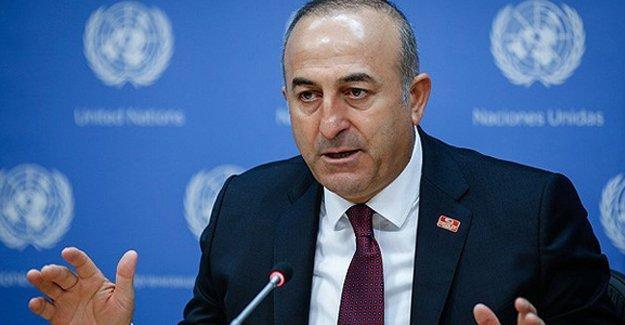 Dışişleri Bakanı'ndan ABD'ye YPG tepkisi