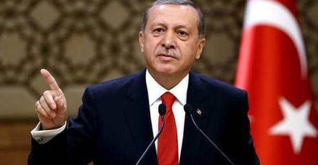 Erdoğan: Ben yargı, yürütme ve yasama organlarının Cumhurbaşkanıyım