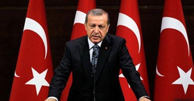 Erdoğan'dan Başbakan ve kabine açıklaması