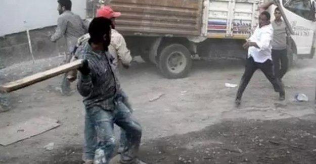 Erzurum'da Kürt işçilere linç girişimi