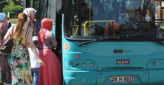 Eskişehir Belediyesi'nden toplu taşımada kadınlara özel uygulama