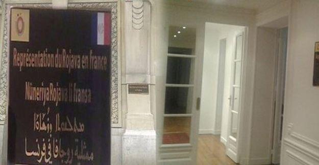 Fransa'nın başkenti Paris'te Rojava temsilciliği açıldı