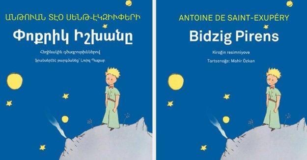 Küçük Prens Ermenice ve Hemşince yayınlanacak
