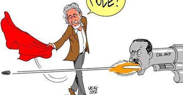 Latuff, Can Dündar saldırısını çizdi