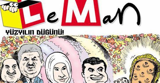 Leman'dan Erdoğan'ı kızdıracak kapak