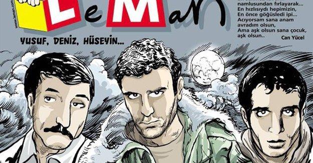 Leman'ın kapağında üç fidan