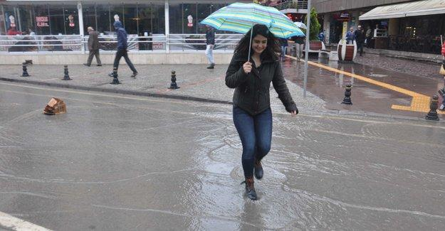 Meteoroloji'den sıcaklık ve yağış uyarısı
