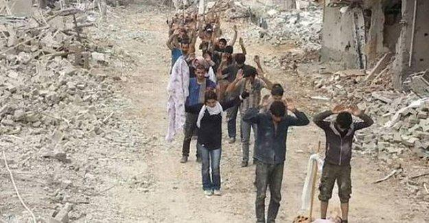 """Nusaybin'de """"PKK'liler teslim oldu"""" görüntüleri kurgu mu?"""