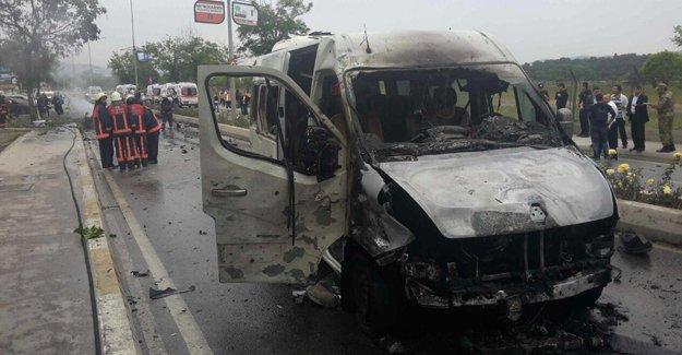 Sancaktepe'deki saldırıya ilişkin 8 kişi gözaltına alındı