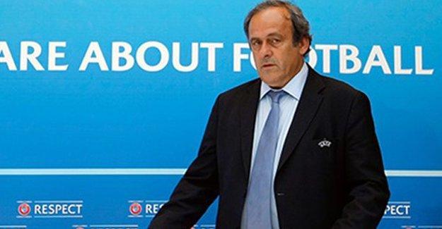 UEFA  Başkanı Platini istifa etti