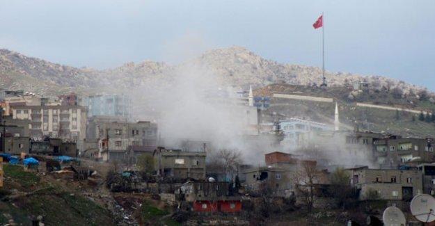 Yasağın sürdüğü Şırnak'ta çatışma