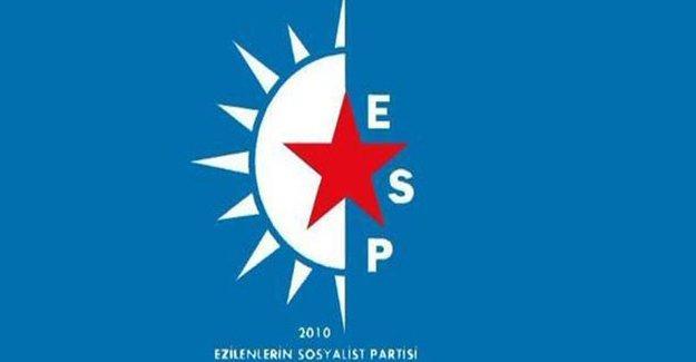 Antep'te ESP İl Örgütü ve parti yöneticilerinin evlerine polis baskını