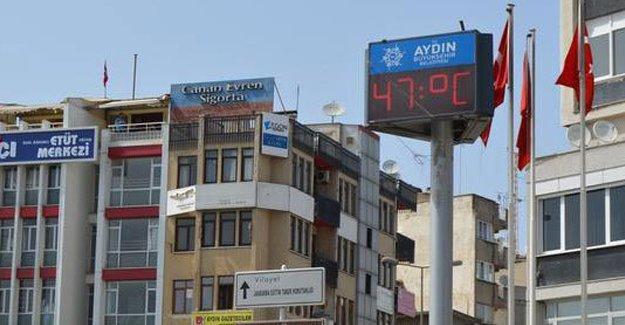 Aydın'da aşırı sıcak tatili