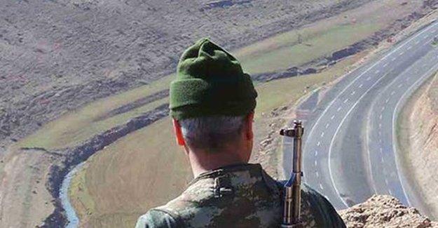 Bitlis'te köy korucusuna silahlı saldırı