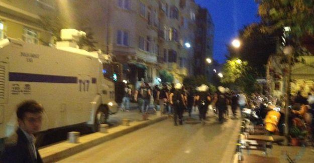 Cihangir Firüzağa'da polis saldırısı
