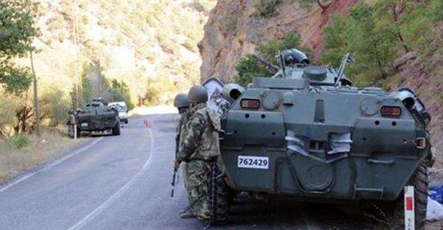 Dersim'de Jandarma Komutanlığı'na saldırı: 1 uzman çavuş yaralandı