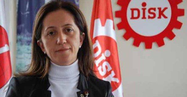 DİSK Genel Sekreteri Arzu Çerkezoğlu serbest bırakıldı