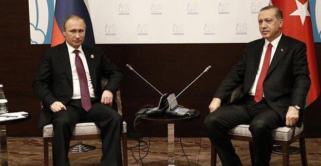 Erdoğan ile Putin 7 ay sonra telefonda görüştü