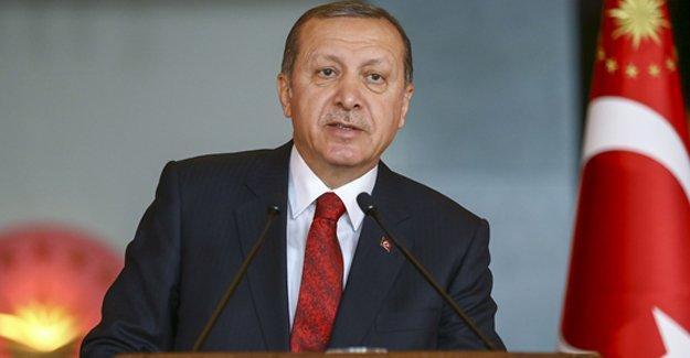 Erdoğan'dan Gezi Parkı açıklaması: 'Oraya o tarihi eseri inşa edeceğiz'