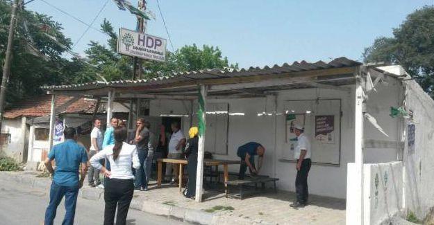 HDP Başakşehir temsilciliğine silahlı saldırı
