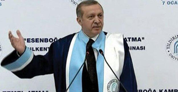 HDP Erdoğan'ın diploma örneğini yayınladı