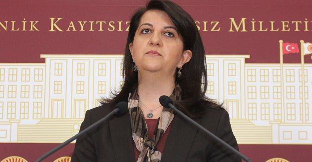 """Pervin Buldan """"Barışa kulak verin"""" sözleri gerekçesiyle ifadeye çağrıldı"""