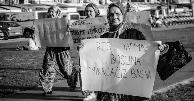 """İzmir'de """"Ekolojik Yıkıma Karşı Dayanışma"""""""
