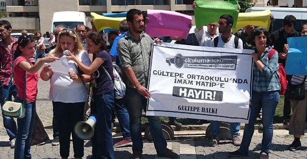 İzmir Gültepe'de ihtiyaç yokken İmam Hatip dönüşümüne tepki