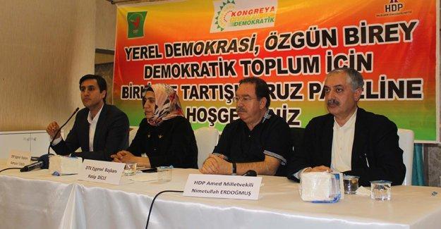 Kamuran Yüksek ve Hatip Dicle'ye 'demokratik özerklik' soruşturması