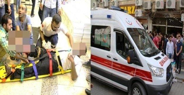Kızıltepe'de 'kaçak bahis oynatılan' yerde patlama