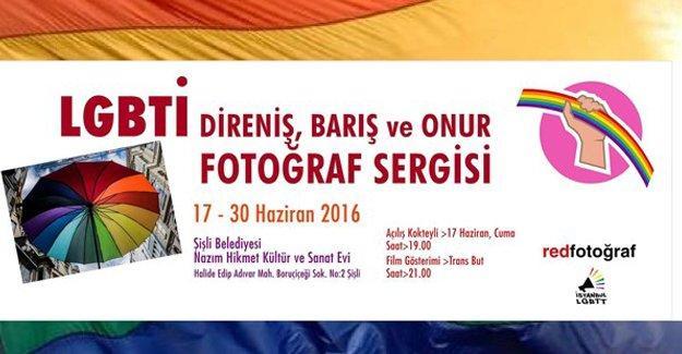 LGBTİ Fotoğraf Sergisi Şişli'de