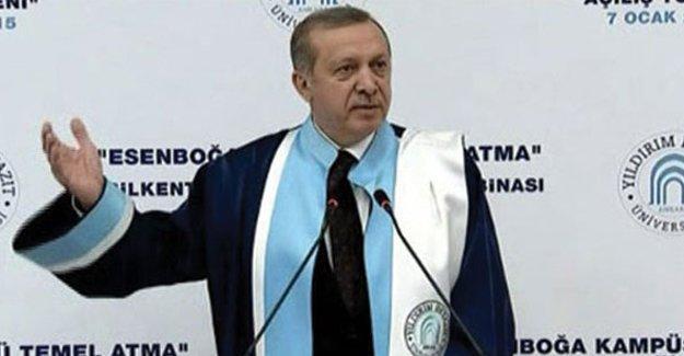 Marmara Üniversitesi'nden Erdoğan'ın diplomasına ilişkin açıklama