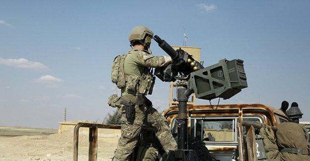 TSK yine Afrin'i hedef aldı