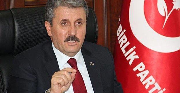 Onur Yürüyüşü'nü hedef gösterenlere BBP Genel Başkanı da eklendi