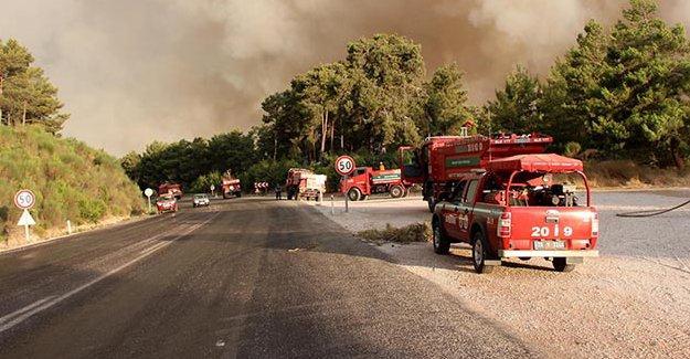 Orman ve Su İşleri Bakanı: Kumluca'daki yangın kontrol altına alındı