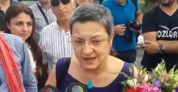 Şebnem Korur Fincancı tahliye edildi: Tutuklanmayı bir onur olarak kabul ediyorum
