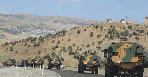 """Şırnak'ta """"askeri güvenlik bölgesi"""" ilanı"""