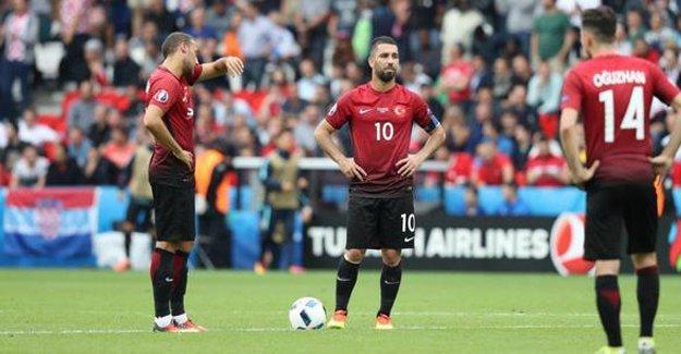 Türkiye-İspanya maçının ilk 11'leri